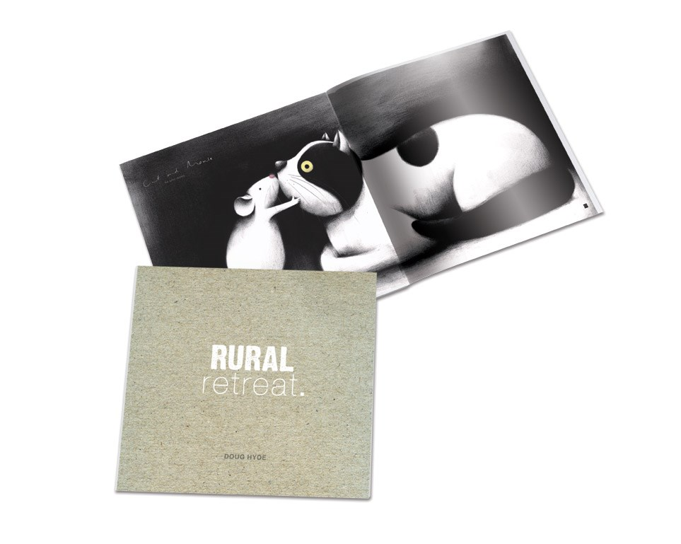Rural Retreat (Book) by Doug Hyde - Book sized 11x11 inches. Available from Whitewall Galleries
